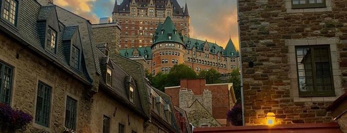 Fairmont Le Château Frontenac is one of Edwulfさんのお気に入りスポット.