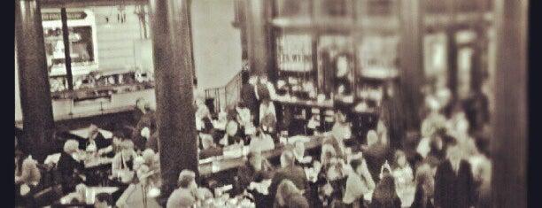 The Wolseley is one of An Aussie's fav spots in London.