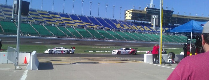 Kansas Speedway is one of Sporting Venues....