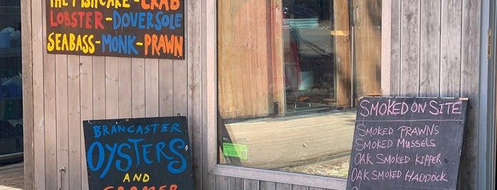Gurneys Fish Shop is one of Norfolk.