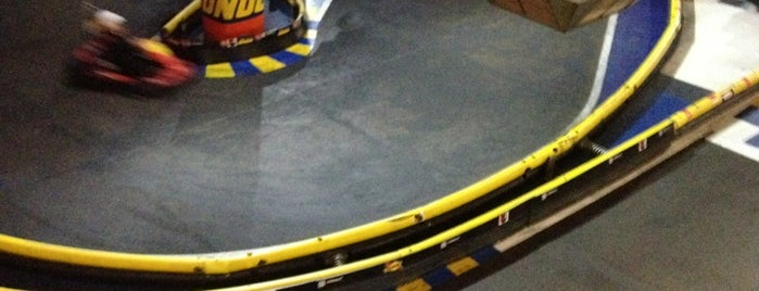 Formula 0 - Indoor Karting is one of Rolando 님이 저장한 장소.