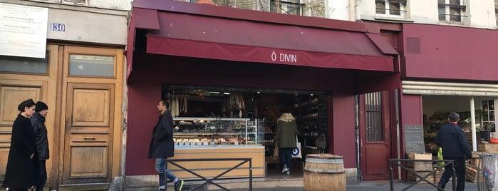 Ô Divin is one of Paris.