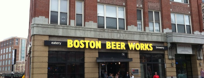 Boston Beer Works is one of Brewery Tours.