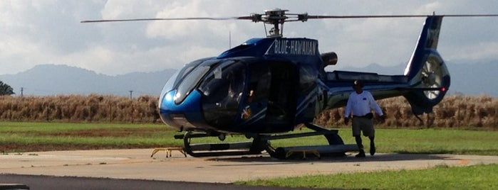 Blue Hawaiian Helicopters is one of Places to Visit: Kauai, HI.