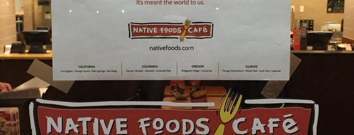 Native Foods is one of Washington.