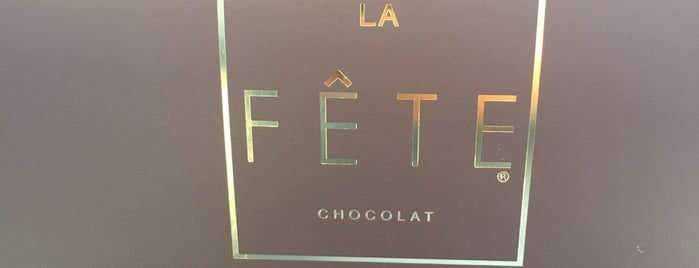 La Fête Chocolat is one of Lugares guardados de Pame.