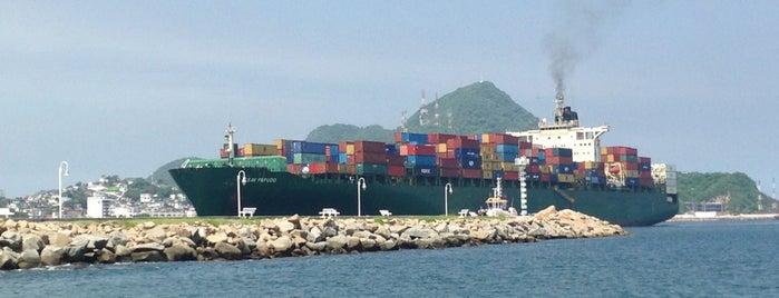 Puerto de Manzanillo Muelle 5 is one of Best Spots in Manzanillo.