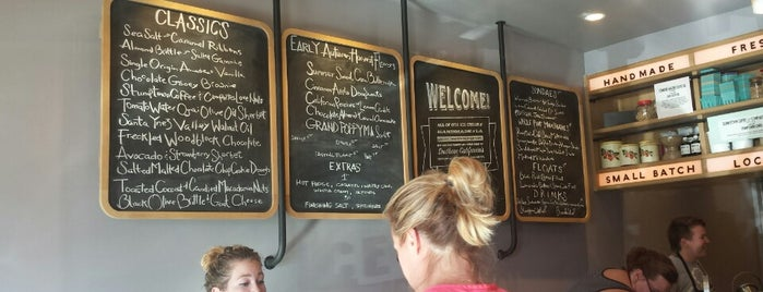 Salt & Straw is one of Chris' LA To-Dine List.