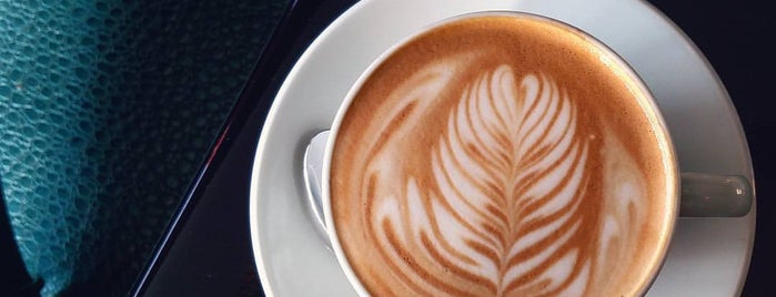 Lamill Coffee Boutique is one of FRANKIE's L.A. Obsessions.