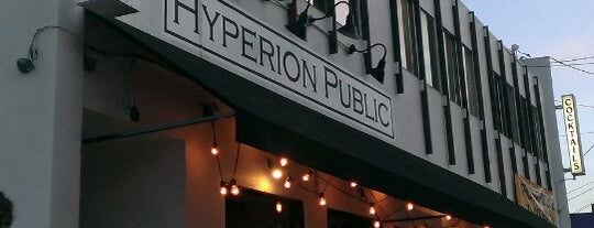 Hyperion Public is one of La La La La La.