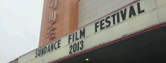 Tower Theatre is one of Sundance Film Festival Theatres.