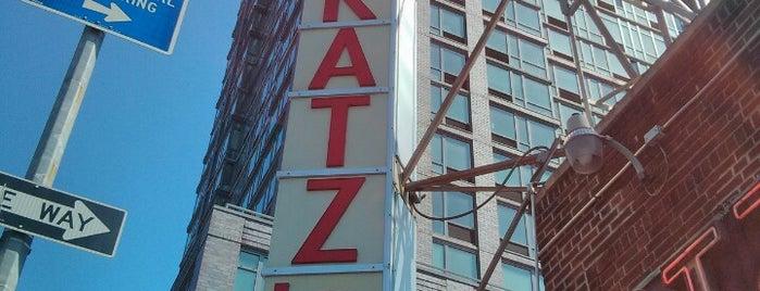 Katz's Delicatessen is one of New York.