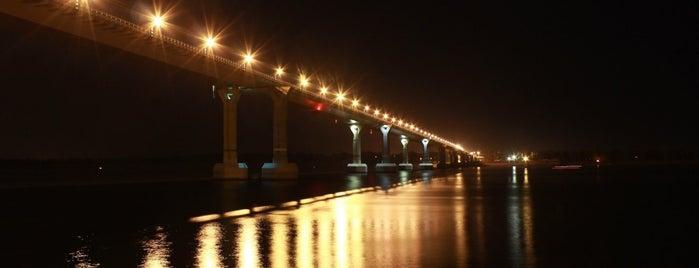 Волгоградский мост is one of Просто удивительно!!!  Вы знаете, что....