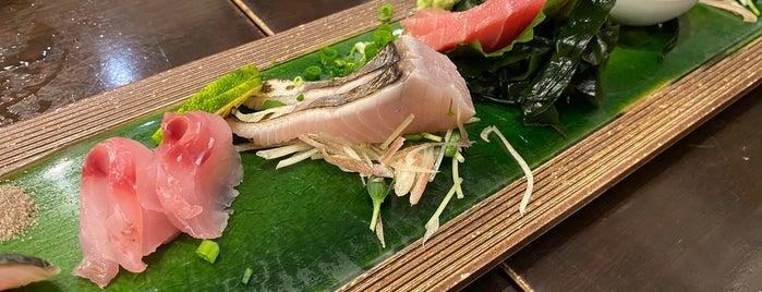 刺身居酒屋 魚男 is one of 飲食店リスト.