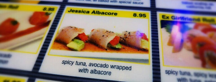 Sushi Dama is one of _ : понравившиеся места.