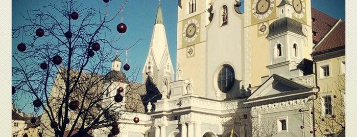 Mercatino di Natale di Bressanone is one of Tempat yang Disukai Silvia.
