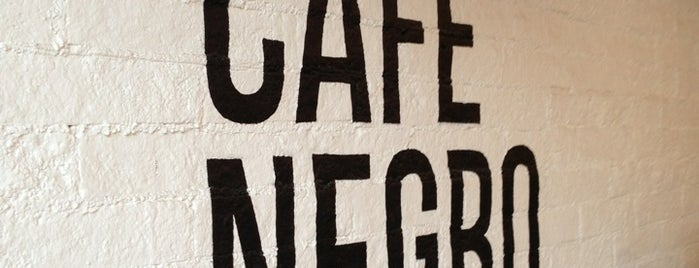 Café Negro is one of CDMX coffee - Mexico City.
