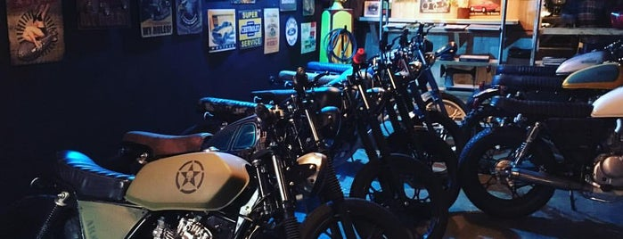 Carrera Motorcycles is one of Bar.
