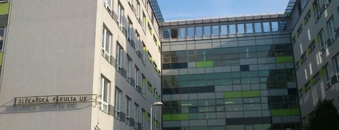 3. lékařská fakulta UK is one of Orte, die Lucie gefallen.