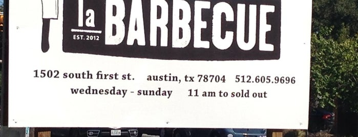 La Barbecue Cuisine Texicana is one of ATXPlaces2GO/Things2DO.