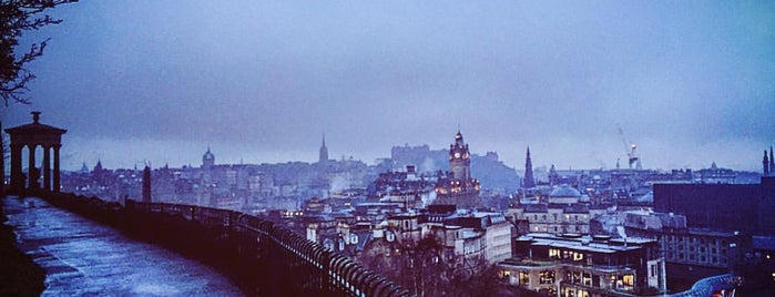 Calton Hill is one of Europe 16.