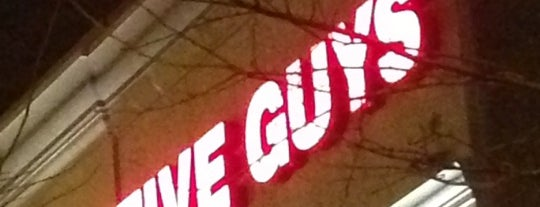 Five Guys is one of Con.