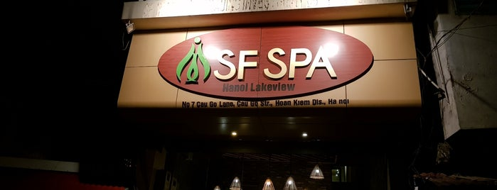 SF Spa is one of hanoi.