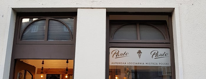 Paulo Gelateria is one of The streets of Gdansk.