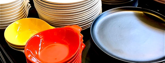 Bauer Pottery Showroom is one of NOHO, Glendale, Burbank, Atwater, Silver Lake, EP.