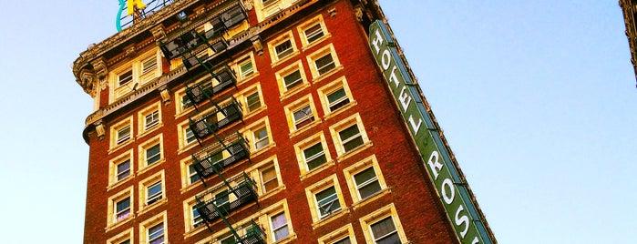 Rosslyn Hotel is one of LA   Next.