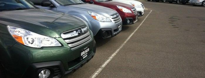 Walser Subaru is one of Locais curtidos por Emily.