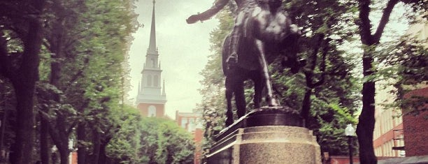 Paul Revere Mall is one of Boston: Fun + Recreation.