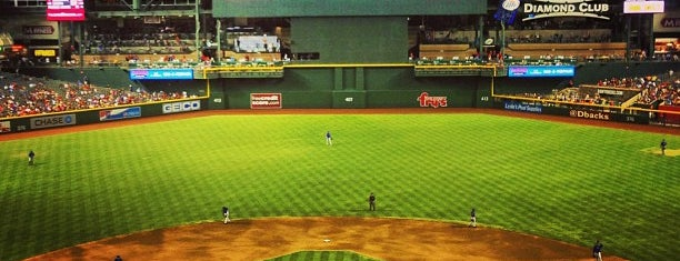 Chase Field is one of Baseball Stadiums To Visit....