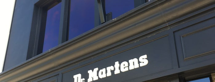 Dr. Martens Retail Store is one of 2018 VACATIONS.