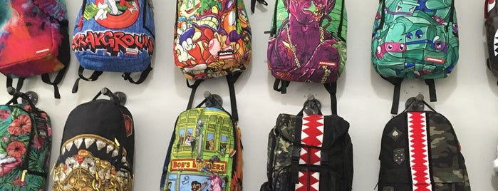 Sprayground Popup is one of Locais curtidos por IrmaZandl.