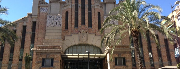 Mercado Central de Alicante is one of Alacant.