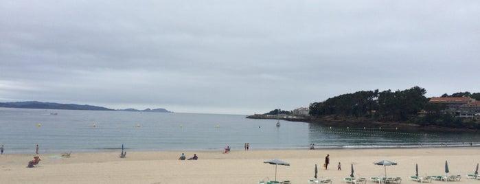 Praia de Silgar is one of Orte, die MIGUEL gefallen.