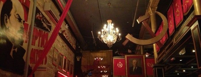 Pravda Vodka Bar is one of Toronto Restaurants & Nightlife.