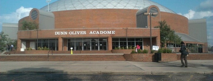 Dunn-Oliver Acadome is one of Steven's Liked Places.