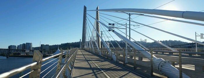 Tilikum Crossing is one of Portland.