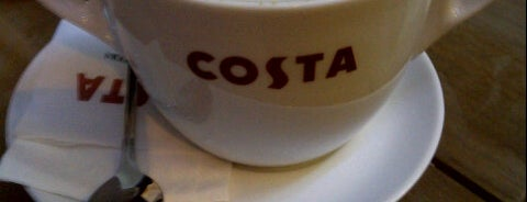 Costa Coffee is one of Jさんのお気に入りスポット.