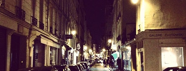 Rue de Seine is one of Paris.