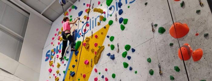 Sputnik Climbing Center is one of Lugares favoritos de David.