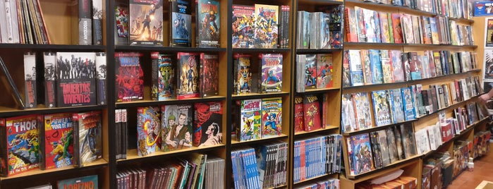 Crisis Comics is one of Ruta friki Madrid.