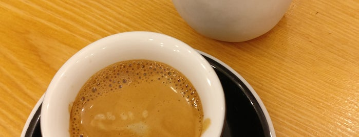 Masters Specialty Coffee is one of Third wave/specialty coffee in Madrid.