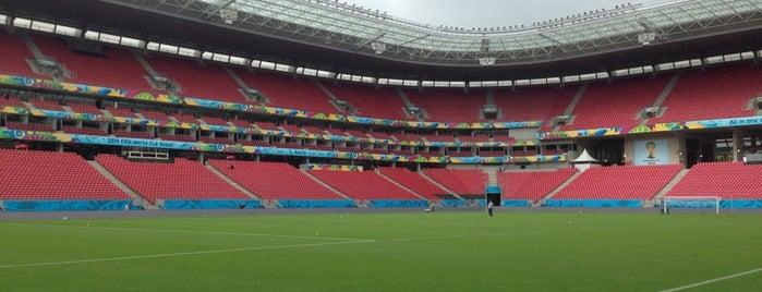 Arena de Pernambuco is one of Big Matchs's Today!.