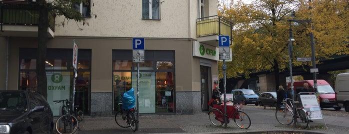 Oxfam is one of Vintage Berlin.