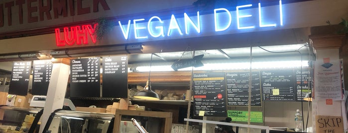 LUHV Vegan Deli is one of Veg Friendly Spots.