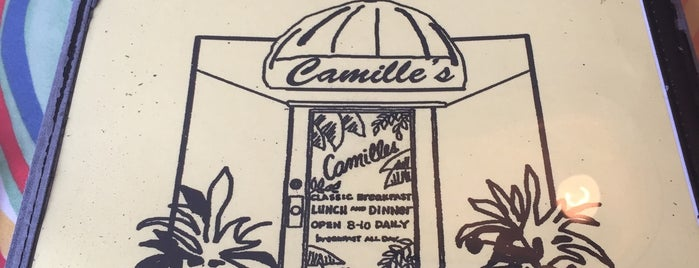 Camille's Restaurant is one of Key West, FL.