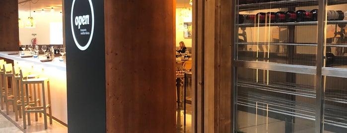 Open Brasserie Mediterrânica is one of Restaurante2.